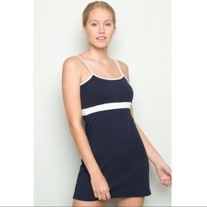 Brandy Melville Lillian dress navy blue